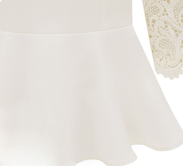 LACE SLEEVES TOP - product image