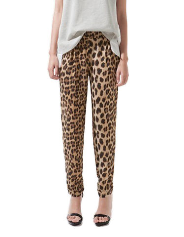 LEOPARD,TROUSERS,LEOPARD PATTERN PANTS,  LEOPARD PRINT Pleats, ANIMAL PRINTS PANTS, ANIMAL PATTERN PLEATS