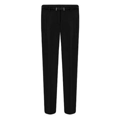 TROUSERS,IN,SLIM,FIT,chiffon trousers, chiffon pants, black chiffon trousers, black chiffon pants, casual chiffon trousers