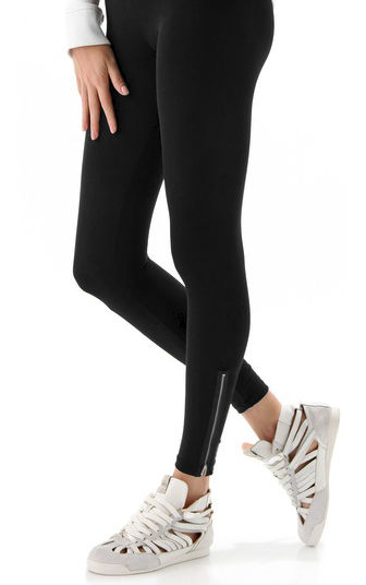 LEGGINGS WITH ZIP - product image