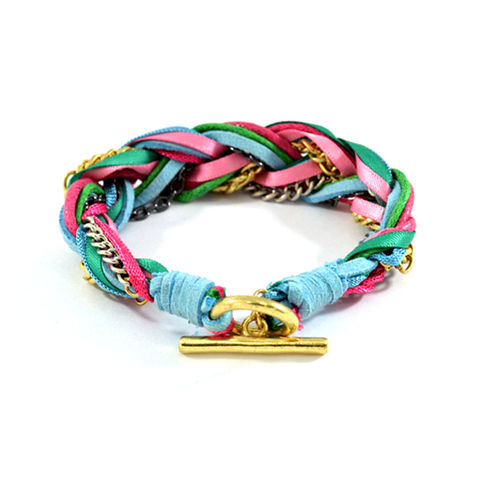 BRAID,BRACELET,WOVEN STRINGS BRACELET, COLORFUL STRINGS BRACELET, CHAIN AND STRING BRACELET