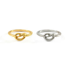 KNOT,RING,TWISTED RING, TWIST KNOT RING, METAL TWIST KNOT RING, METAL KNOT RING