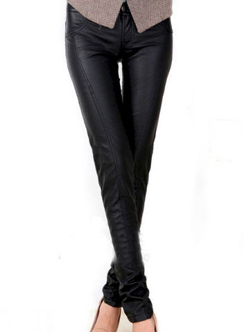 LEATHER,LOOK,PENCIL,TROUSERS,LEATHER PENCIL TROUSERS, LEATHER PENCIL PANTS, LEATHER LOOK PENCIL PANTS, BLACK LEATHER PENCIL TROUSERS