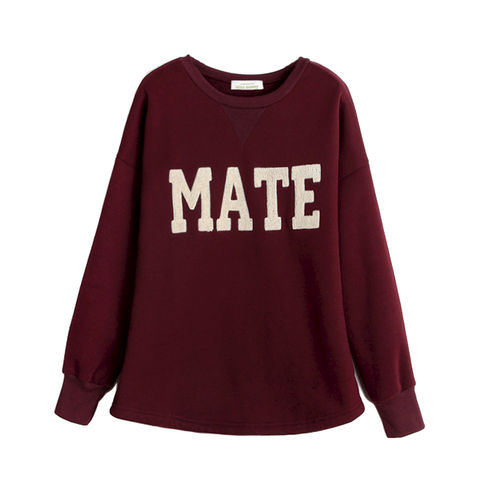 MATE,JUMPER,SIMPLE JUMPER, BAT SLEEVE JUMPER , MATE PRINT JUMPER, RED JUMPER, BLUE JUMPER, RED BAT WING JUMPER