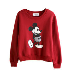 MICKEY,JUMPER,MICKEY MOUSE JUMPER, BLACK MICKEY MOUSE JUMPER, CARTOON PRINT JUMPER