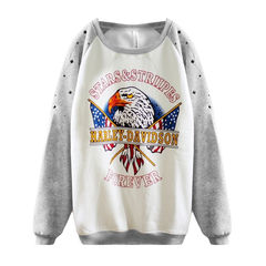 E-GAL,JUMPER,ANIMAL PRINT JUMPER, EAGLE PRINT JUMPER, EAGLE JUMPER, BIRD JUMPER,EAGLE RAGLAN JUMPER, ANIMAL PRINT RAGLAN JUMPER
