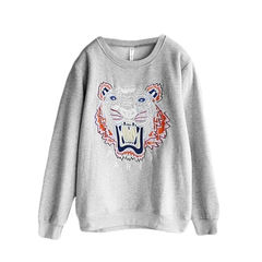 TIGER,JUMPER,(sold-out),Kenzo sweater, TIGER PRINT JUMPER, KENZO JUMPER,  TIGER PRINT SWEATER, TIGER EMBROIDERY JUMPER