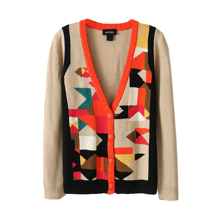 BLOCK COLOUR CARDIGAN - product image