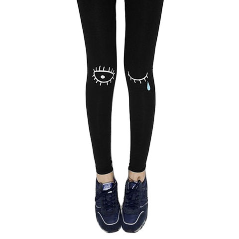 TEARS,LEGGINGS,EYE TATTOO LEGGINGS, EYE PRINT TATTOO LEGGINGS, TEAR PRINT TATTOO LEGGINGS, EYE AND TEAR FAKE TATTOO LEGGINGS