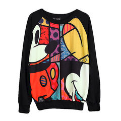 MICKEY,JUMPER,MICKEY MOUSE JUMPER, CARTOON MICKEY JUMPER, COLORFUL MICKEY JUMPER, MICKEY PRINT JUMPER