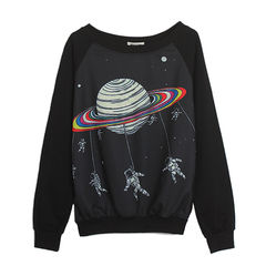 SPACEMAN,JUMPER,(sold-out),COLOURFUL PRINT JUMPER, COLOR PLANET JUMPER, SPACEMAN AND PLANET JUMPER, COLOURFUL PLANET PRINT JUMPER
