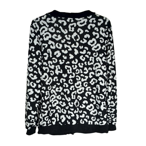 LEOPARD PRINT CARDIGAN - product image