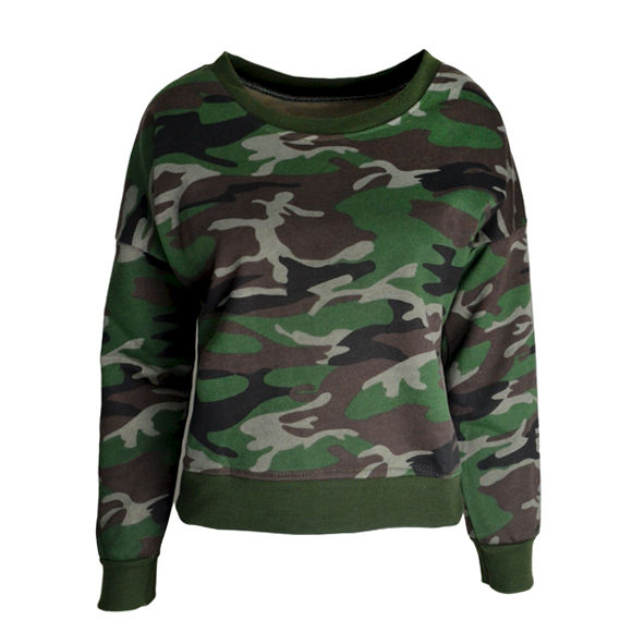 CAMOUFLAGE JUMPER - product image