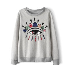 EYE,SYMBOL,SWEATER,KENZO JUMPER, EYE PRINT JUMPER, EYE SYMBOL JUMPER, EYE SYMBOL PRINT JUMPER