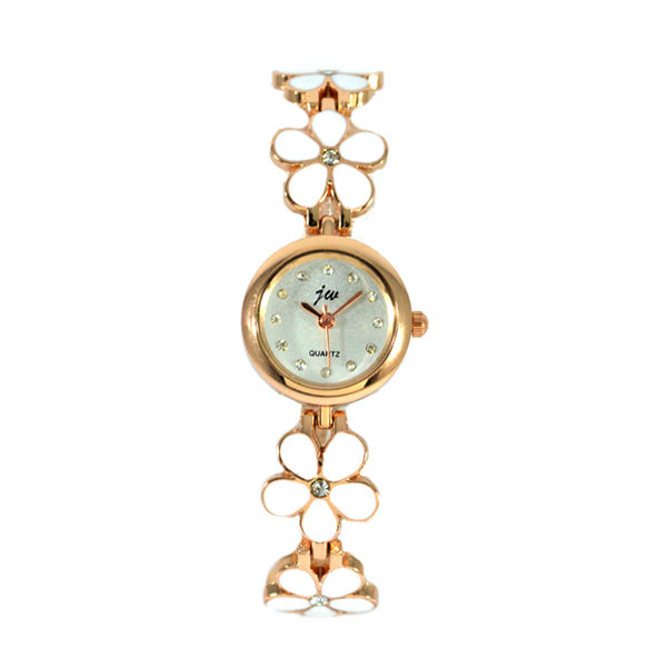 FLORAL STRAP WATCH - product image