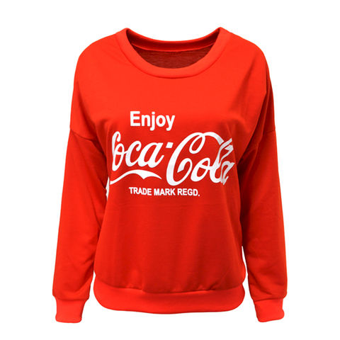 COCACOLA,JUMPER,COCA COLA JUMPER, COCA COLA LOGO JUMPER, RED COCA-COLA JUMPER