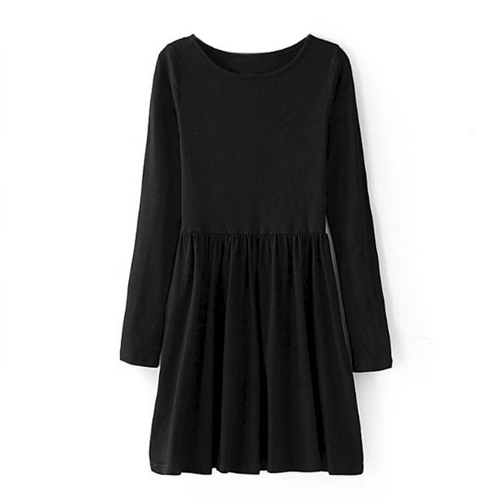 MINIMAL PLAIN DRESS - product image