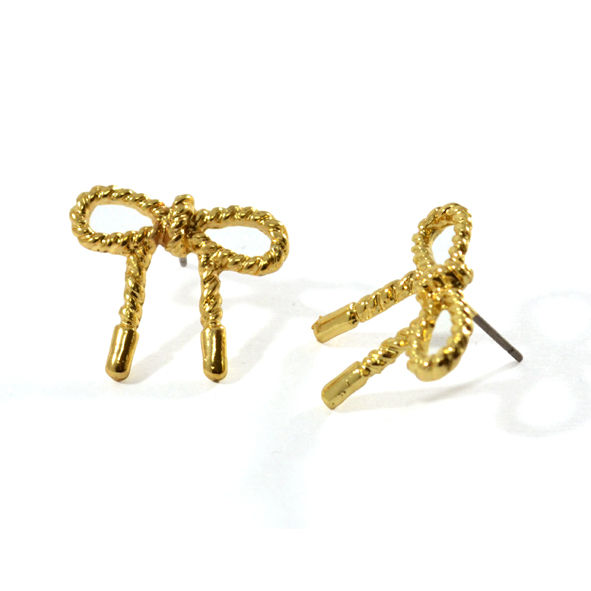 BOW EARRINGS - product image