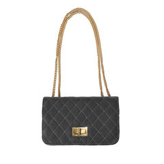 Chain Quilted Shoulder Bag 34