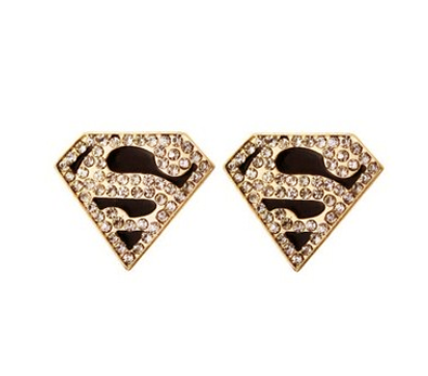 SUPERMAN,EAR,STUD