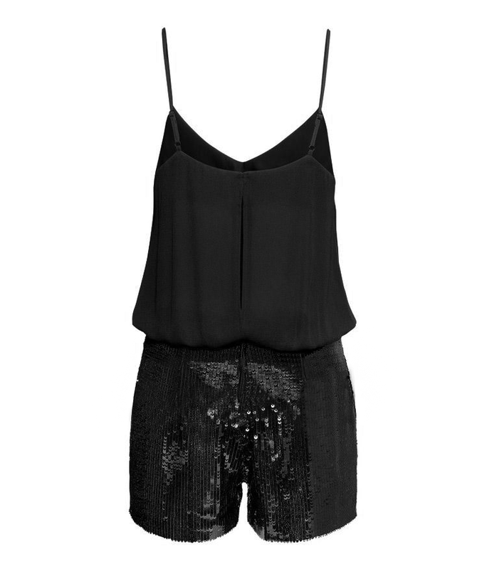 SEQUIN BOTTOM JUMPSUIT - product image