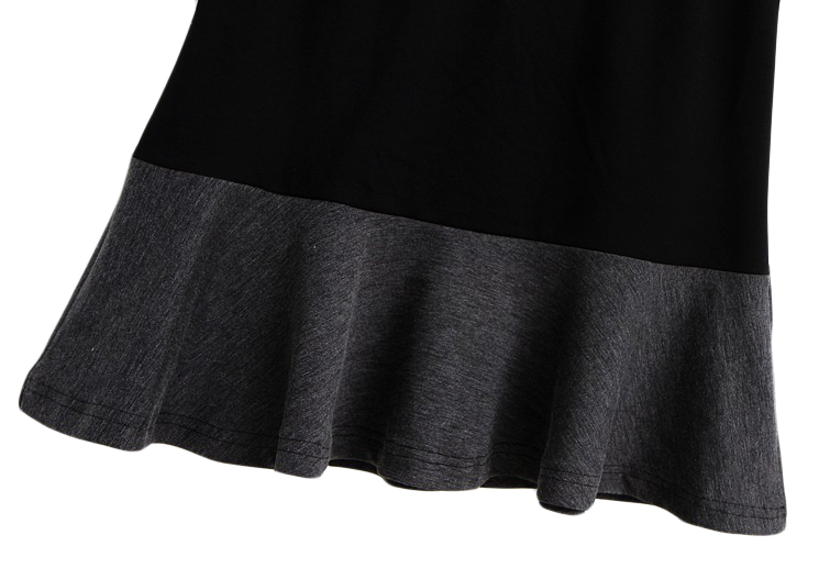 TWO TONE PLEATED SKIRT - product image
