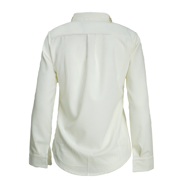 CRYSTAL DETAIL COLLAR SHIRT - product image
