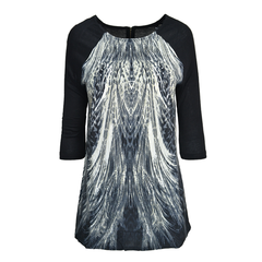 FEATHER,PRINT,TOP