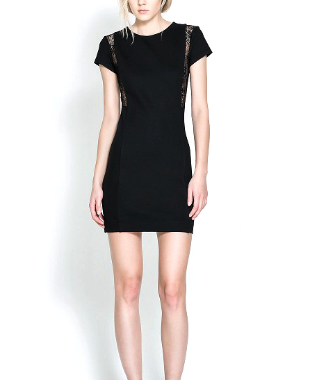 SIDE LACE DRESS - product image