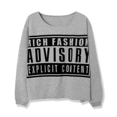 RICH,FASHION,ADVISORY,LOOSEN,TOP