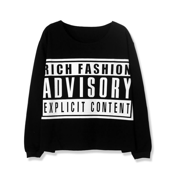 RICH FASHION ADVISORY LOOSEN TOP - product image