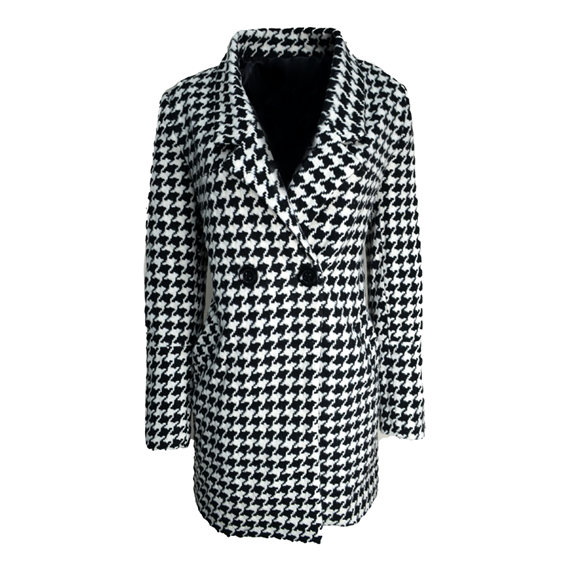 DOG TOOTH COAT - product image