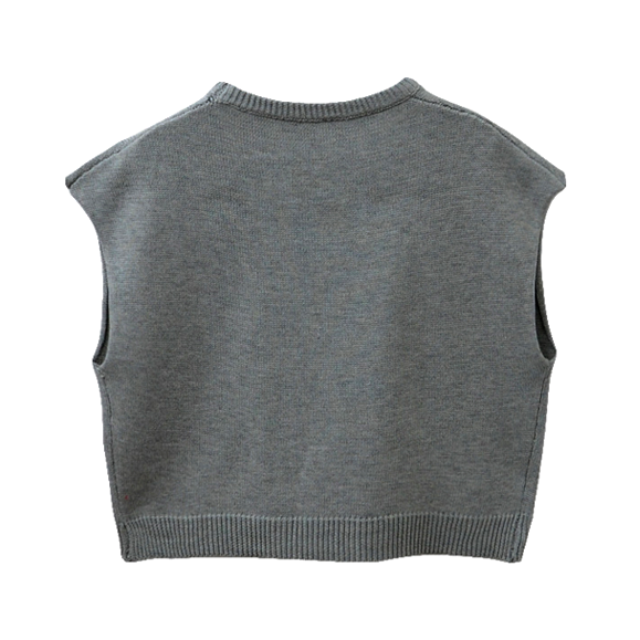 M KNITTED VEST - product image