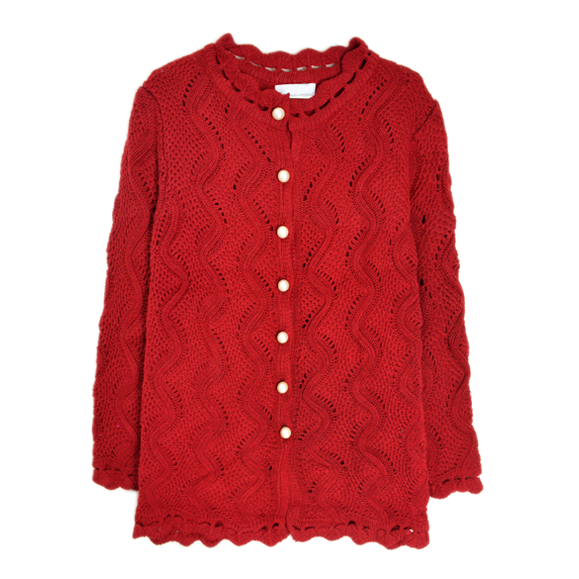 WAVE KNIT CARDIGAN - product image