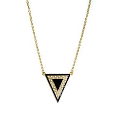 TRIANGLE,NECKLACE