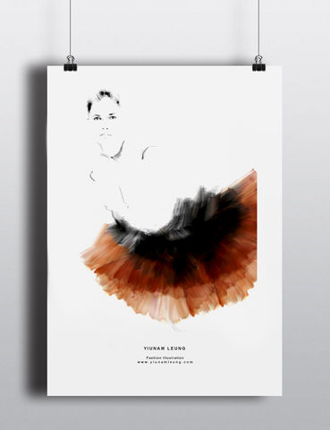 FASHION,PRINT,10,yiunam leung fashion illustration, fashion illustration print, fashion prints
