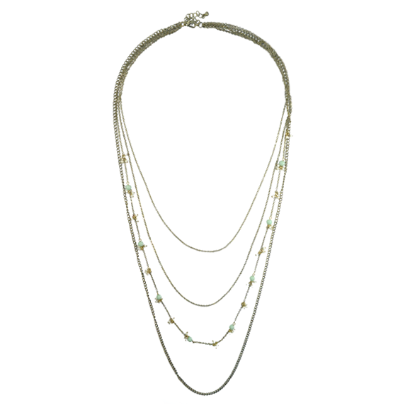 BEADS MULTI LAYERS NECKLACE - product image