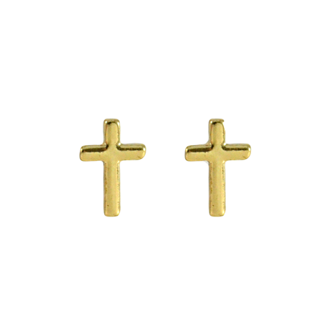 CROSS,EARRINGS,GOLD CROSS EARRING, GOLD CROSS EAR STUD, SILVER CROSS EARRINGS, SILVER CROSS EAR STUD, MINIMAL CROSS EAR STUD