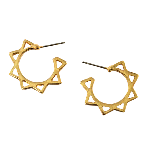 ZIGZAG,HOOPS,EARRINGS,SUN EARRINGS, GOLD ZIGZAG HOOPS EARRINGS, GOLD HOOPS EARRINGS, ZIGZAG HOOP DESIGN EARRINGS, GOLD ZIGZAG DESIGN EARRINGS