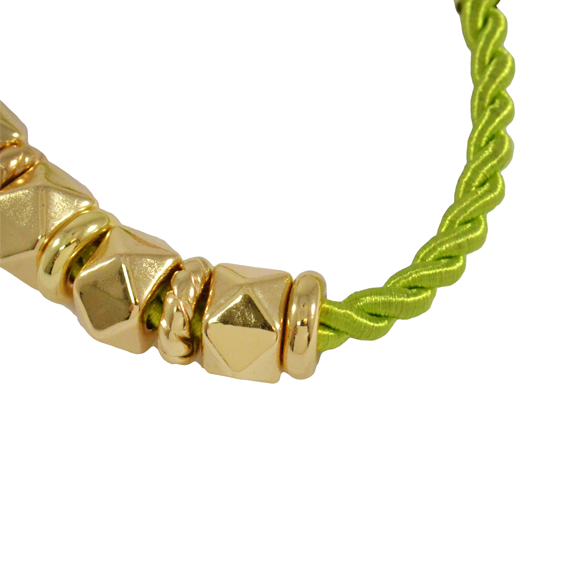 ROPE WITH BEADS BRACELET - product image
