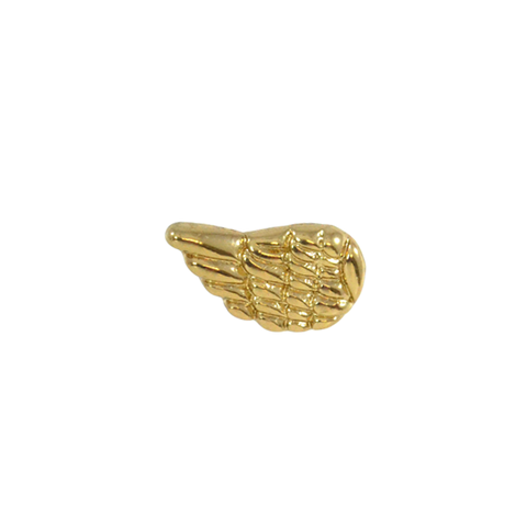 GOLD,TONE,ANGEL,WINGS,EARRING