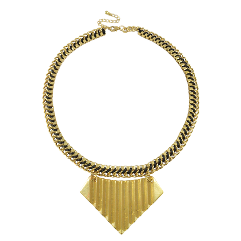 AZTEC,PLATED,STATEMENT,NECKLACE,gold plated necklace, tribal trend necklace, gold tribal necklace
