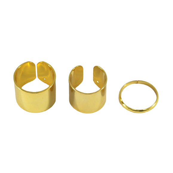 OPEN ENDED MINIMAL RING SET - product image