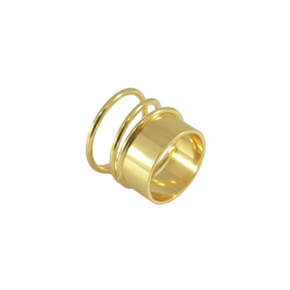 TUBE BRASS RING - product image