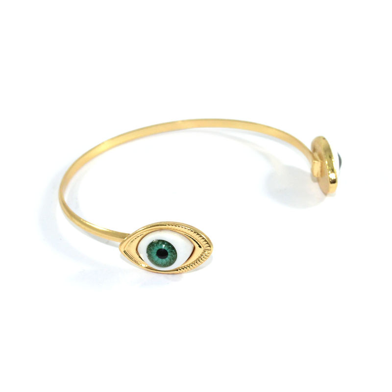 DOUBLE EYES ARM BANGLE - product image
