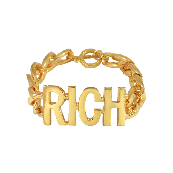 CHUNKY LETTERS BRACELET - product images  of