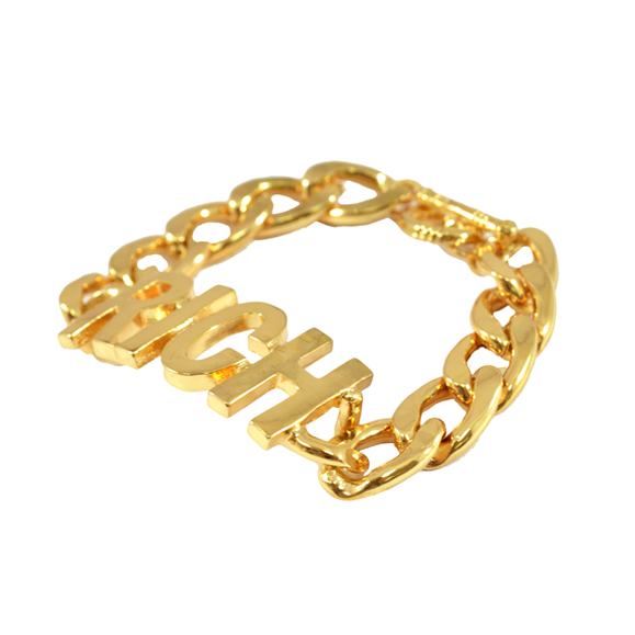 CHUNKY LETTERS BRACELET - product image