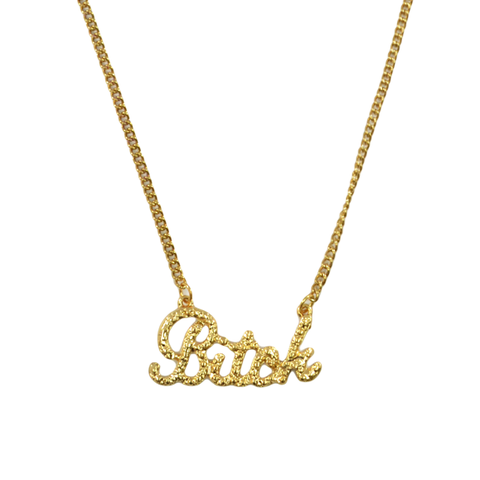 BITCH,LETTERS,NECKLACE,bitch necklace, gold hip hop necklace, hip hop necklace, letters necklace, words necklace, gold plated necklace, 18k gold necklace, 18k gold plated necklace, gold plating necklace, 18k gold plating necklace, word necklace, letter necklace, name necklace
