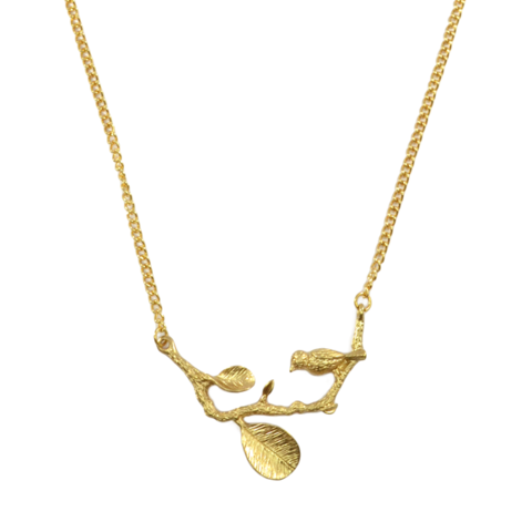 BIRD,ON,TWIG,NECKLACE