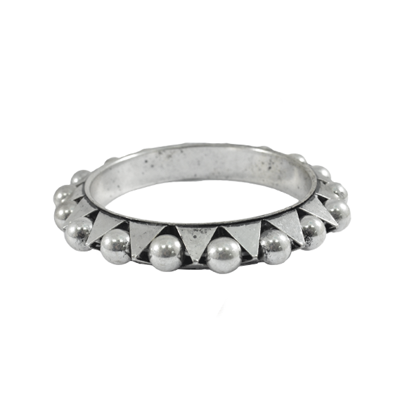 SPIKE AND SPHERE BANGLE - product image